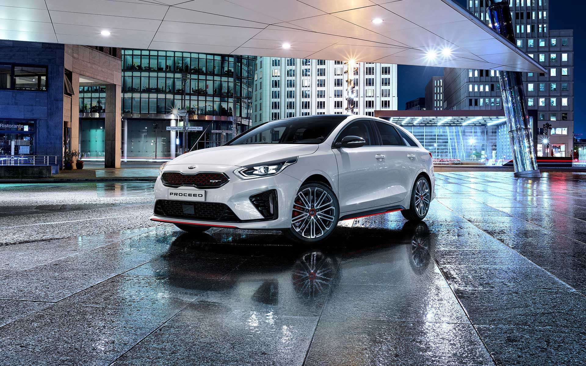 Kia ProCeed GT Frontansicht